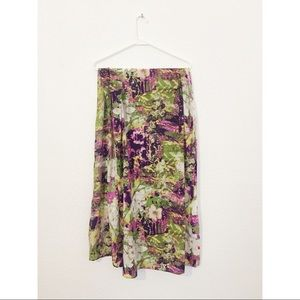 Esprit Scarf with Floral Abstract Print